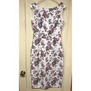 Bettie Page Floral Jazmin Dress